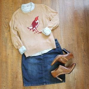 Nine West Vintage America Denim Skirt, Size 6, EUC